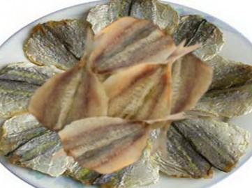 Cá chỉ vàng tươi nguyên chất phơi khô